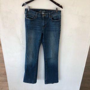 EDDIE BAUER • Brook Slightly Curvy Bootcut Jeans